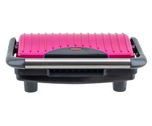 Elektrischer Sandwichmaker Gloria, schwarz/pink, B 31 cm