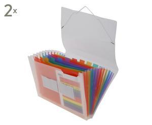Taschen-Datei-Ordner Liz, 2 Stück, B 33 cm