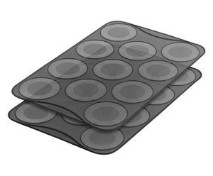 Backmatten Macaron, 2 Stück, 20 x 30 cm