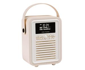 DAB Radiowecker Retro Mini, creme