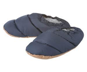 Daunen-Bettschuhe Helena, Größe 39-41, blau