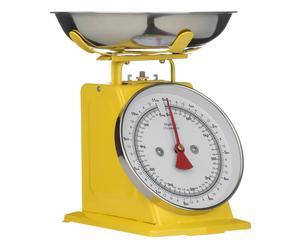 Mechanische Küchenwaage Jana, gelb, H 26 cm