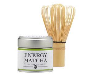 Starter-Kit-Set Energy Matcha, 2-tlg.