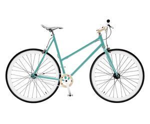Damenfahrrad Single Speed, lichtgrün, Rahmen 52 cm, Ø 28 Zoll
