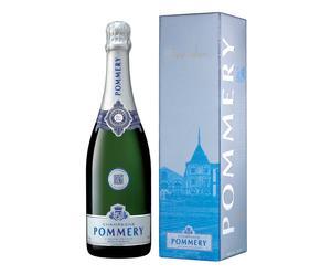 Champagner Pommery Brut Silver in Geschenkverpackung, 0,75 l