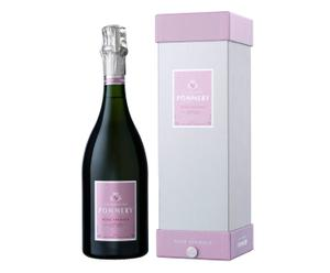 Champagner Pommery Rosé Apanage in Geschenkverpackung, 0,75 l
