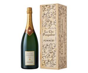 Champagner Pommery Les Clos Pompadour in Holzkiste, 1,5 l
