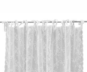 Schleifenschal Maddie, weiß, B 160 x L 250 cm
