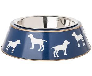Hundenapf Charlie, blau, 10 x 23 cm