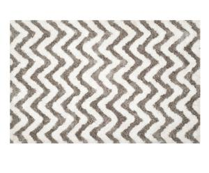 Handgetufteter Teppich Fazil, beige,silberfarben, B 152 x L 243 cm