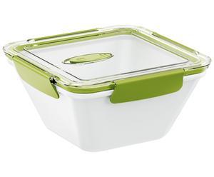 Lunchbox Bento Box, weiß, grün, 1.5 l
