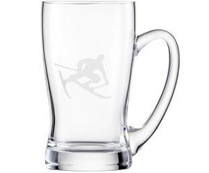 Bierkrug Toni, transparent, 0,62 l