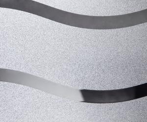 Selbstklebende Fensterfolie Wave, 45 x 200 cm
