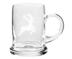 Bierkrug Hirsch, 500 ml