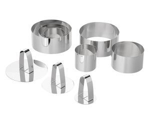 Anrichte-Set Steel, 9-tlg.