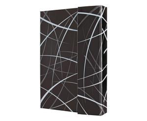 Hardcover-Notizbuch Conceptum, Design Sphere, liniert, 12 x 15 cm