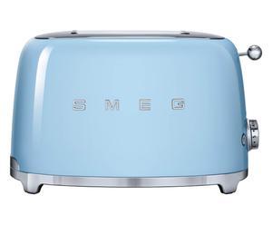 2-Scheiben-Toaster 50`s Retro Style, pastellblau, B 31 cm