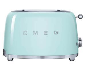 2-Scheiben-Toaster 50`s Retro Style, pastellgrün, B 31 cm