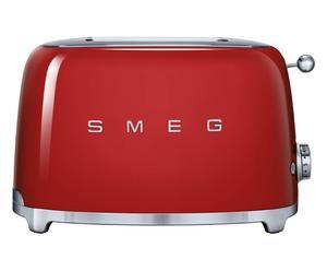 2-Scheiben-Toaster 50`s Retro Style, rot, B 31 cm