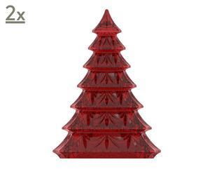 Deko-Tannenbäume Xmas, 2 Stück