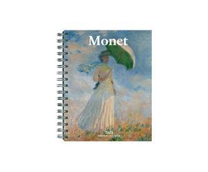Taschenkalender Claude Monet mit Spiralbindung, 17 x 22 cm