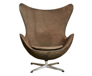 Egg Chair Ei™ Sessel von Arne Jacobsen, um 1960, B 80 cm
