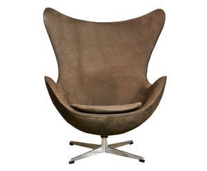 Egg Chair Ei™ Sessel von Arne Jacobsen, um 1960, B 80 cm