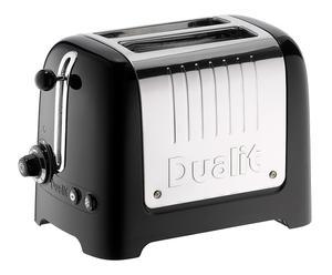 2-Schlitz-Toaster Gloss, schwarz