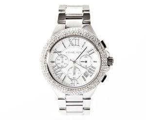 Michael Kors Damen-Armbanduhr Camille XL Chronograph