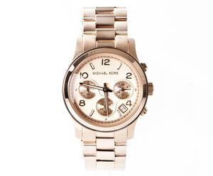 Michael Kors Damen-Armbanduhr Runway Chronograph