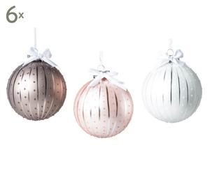 Weihnachtskugel-Set Melody, 18-tlg., Ø 8 cm
