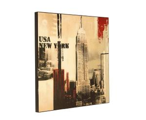 Wandbild New York, 80 x 80 cm