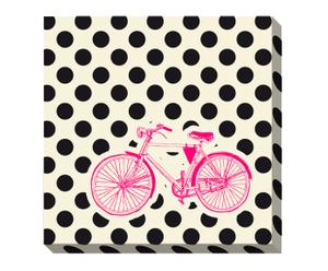 Canvas-Druck OLD BICYCLE I, 50 x 50 cm