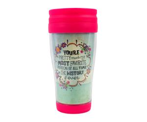Becher Most Favorite Person, H 15 cm