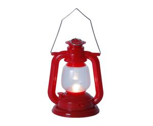 Set de 2 faroles LED Camping - rojo