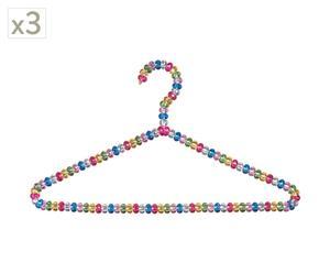 Kleiderbügel-Set Confettis I, 3 Stück