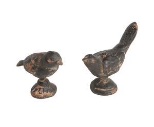 Dekofiguren-Set Oiseaux, 2-tlg.