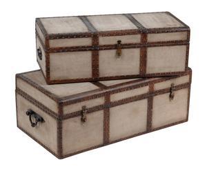 Aufbewahrungskoffer-Set ADAMA, 2-tlg.