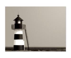 Leinwanddruck Leuchtturm, 80 x 60 cm