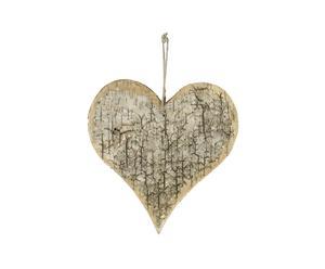 XL Aufhänger, CHRISTMAS HEART, H 25 cm