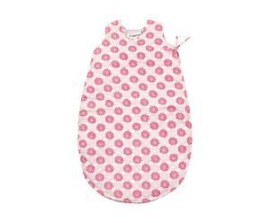 Babyschlafsack ROSALIE, beige/rosa, 0 bis 6 Monate