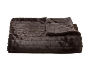 Decke Faux Fur Mink, 115 x 150 cm