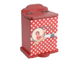 Aufbewahrungsbox Fifties, H 15 cm
