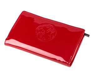 Geldbörse Vivien, rot, B 20 cm