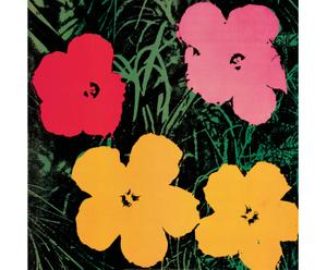 Bild Flowers 1964, 96 x 96 cm