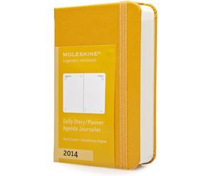 Tageskalender 2014, gelb