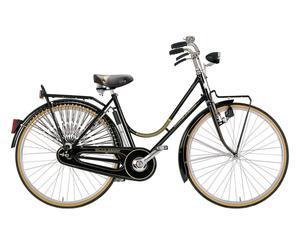 Damen-Fahrrad VIAGGIO, schwarz, 26 Zoll