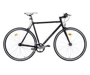Herren-Fixie SPORT FIXED, schwarz, 28 Zoll, Rahmenhöhe 52 cm