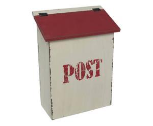 Briefkasten mit Deckel MR. POSTMAN
