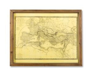 Wandkarte Europe, B 56 x H 46 cm